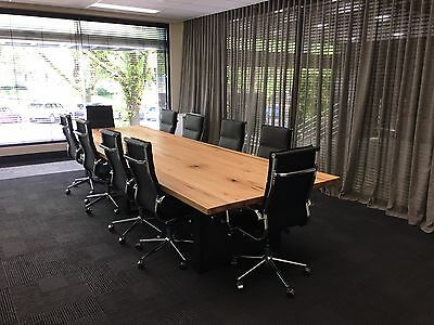 Custom Made Boardroom Tables Handmade Locally In Melbourne