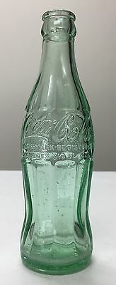 Scarce 195? Coca Cola Hobbleskirt Fredericksburg Virginia Patent Office 6-1/2oz