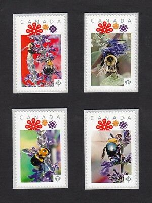 BEE, HONEYBEE,  set of 4 Picture Postage MNH stamps Canada 2016 [p16/01-2be4]