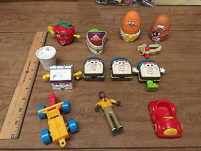 Lot Of McDonalds Toys McNuggets Cashier Transformers