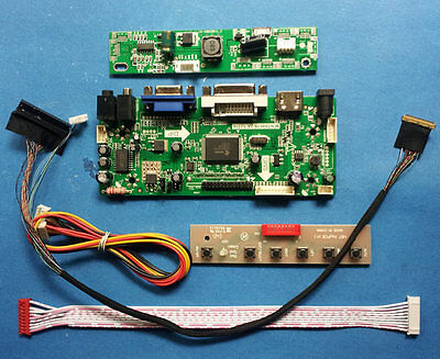HDMI DVI VGA Audio Driver Board for 15.4inch 1440x900 LTN154BT08 LP154WP3 N154C6