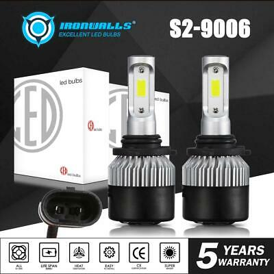 9006 HB4 CREE 900W 135000LM LED Headlights Kit Bulb 6500K High Power vs 120w HID