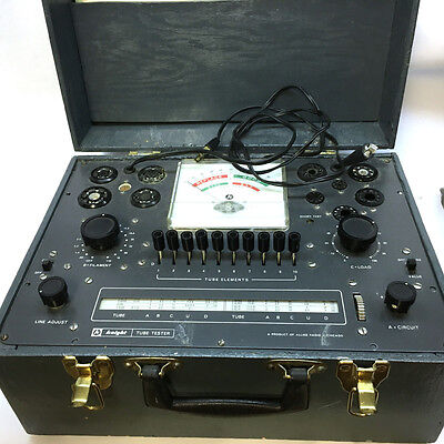 KNIGHT 600A Tube Tester Checker with Manuals