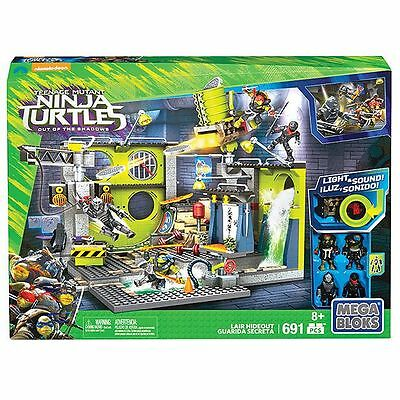 NEW MEGA BLOKS Teenage Mutant Ninja Turtles Sewer Hideout DPF83