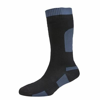 UK Made Sealskinz Mid-Weight Waterproof Cycling Hiking Fishing Calf Socks Cheap