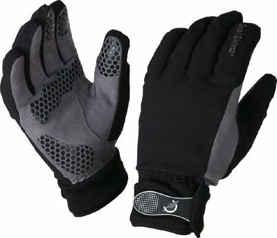 Uk Made Sealskinz Men's All Weather Cycling Fishing Camping Work Gloves Cheap