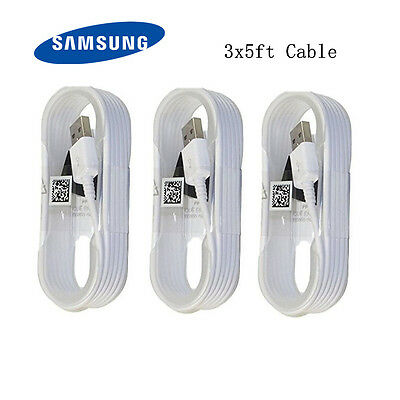 3 Pack OEM Micro usb cable 5FT Fast Charger Samsung Galaxy Note 2 4 5 s2 3 4