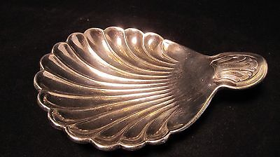 Beautiful Vintage 1621 Made In Germany Silver Scallop Shell Ring Trinket Dish