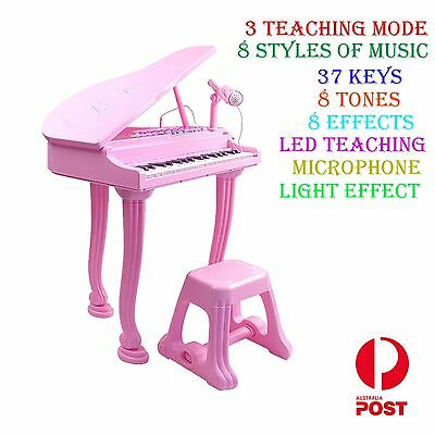 2017 Kids Electronic Piano Keyboard Organ Toy Microphone Music Educational Toy