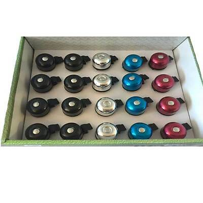 Bike Bicycle Bell - Assorted colors Black Blue Silver Red