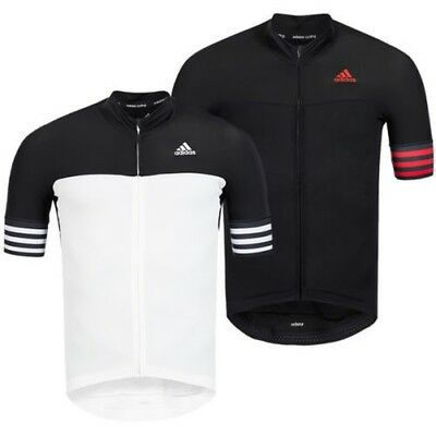 7d8346f8 Adidas Adistar Cd.zero3 Cyclisme Maillot Vélo Jersey Top Chemise Col Droit  Neuf