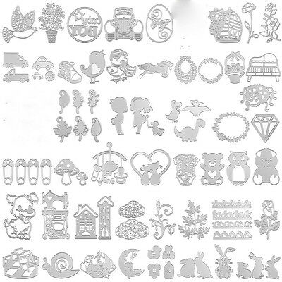 Metal Cutting Dies Stencil DIY Scrapbooking Embossing Album Paper Craft Decor -3