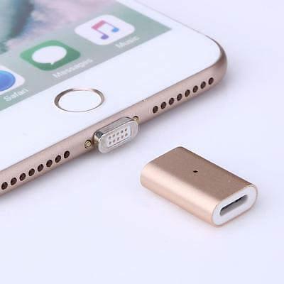 Magnetic Charging Charger Adapter For Apple iPhone 7 6S Plus 5S 5C SE iPad Air