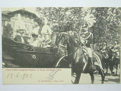 Famous People-Royalty Savoia-Exhibition Turin 1902-O9M-X63315