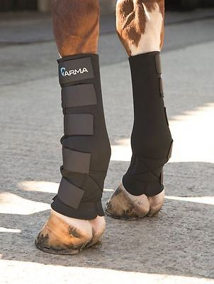 Shires Arma Mud Socks Neoprene Horse Full Lower Leg Protection Mud Fever 1991