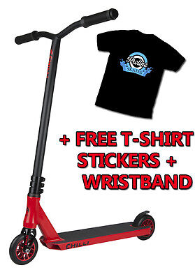 Chilli Pro Complete Stunt Scooter - Fire Reaper + FREE TSHIRT