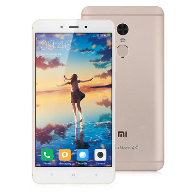 5.5'' Xiaomi Note 4 4G Smartphone 3+64GB Android 6.0 Helio-X20 Deca Core 13MP FR