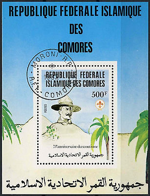 Comoro Islands 1981 SG#MS479 Boy Scout Movement Cto Used M/S #A92931