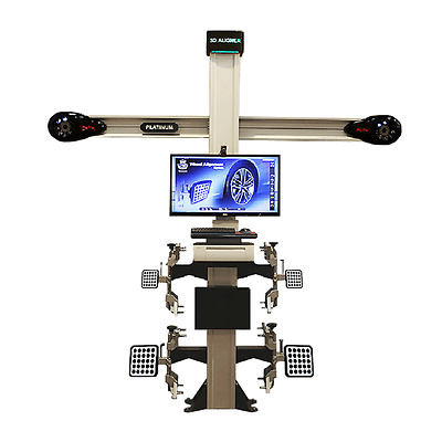 Platinum 3D Wheel Alignment System, Ex Showroom model one only at this price