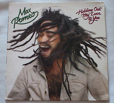 Max Romeo Holding Out My Love To You 1981 LP Vinyl NM- NICE Original Stones