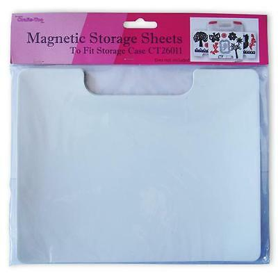 Crafts 3 Magnetic Storage Sheets For Dies, Securely Hold, Storage Case CT26011A