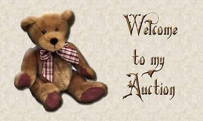 198 Teddy Bear Auction Template Baby..doll..child = No Active Content