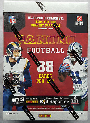 NFL Panini 2016 Football NFL Blaster 11-Pack Box Sealed/OVP 1 Hit