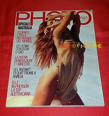 PHOTO ITALIA N. 182 1990 Elle McPherson, Graham Shearer, Speciale Australia