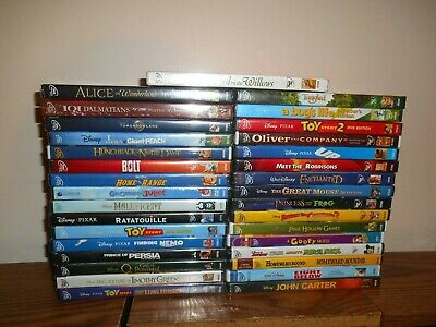 Lot of [35] Disney DVD: Kids/Family Movies] Finding Nemo; Toy Story 2, & 3 ] New