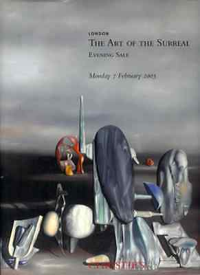 Christie's The Art Of The Surreal Evening Sale Oversize