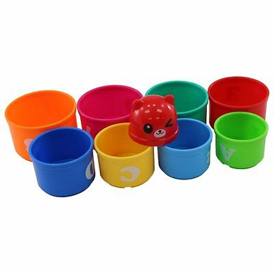 Nobe Stacking & Nesting Cognitive Cups Numbers & Letters