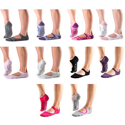 Tavi Noir Chey Fitness Dance Yoga Exercise Gym Non-Slip Grippy Socks