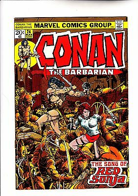 Conan The Barbarian 24 1st full app of Red Sonja