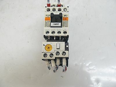 New Fuji Contactor  20Amp Coil 24Vdc 50/60Hz Sc-0/g With Tr-0N Overload Relay