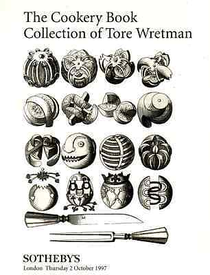 Sotheby's The Cookery Book Collection Of Tore Wretman London