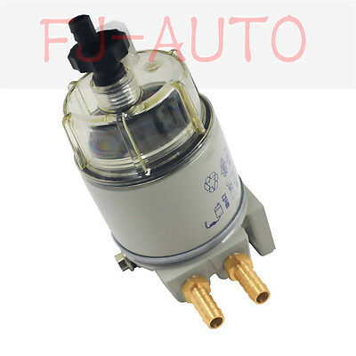 Style New FOR R12T MARINE SPIN-ON HOUSING FUEL FILTER / WATER SEPARATOR 120AT