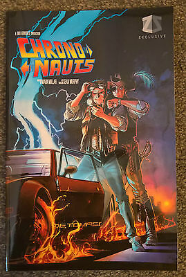 Z-Box Back to the Future Cover CHRONONAUTS Graphic Novel Comic Book 1 MarkMillar