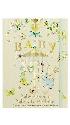 Pregnancy Journal - Bump to Baby's 1st Birthday * Baby Record Book * Keepsake