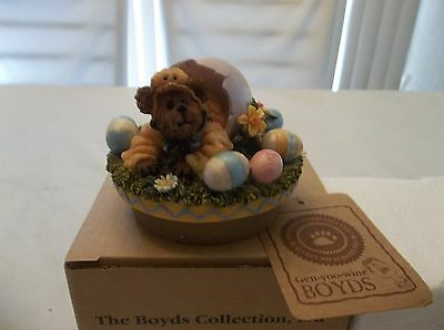 Boyds Collection Large Candle Topper Webster Easter Surprise Nib Retired 6512201