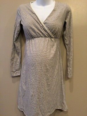Motherhood Nursing Small Maternity Nightgown With Lace