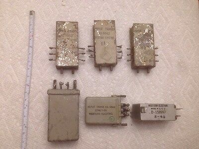 (6) Western Electric Input Transformers Audio Tube Amp