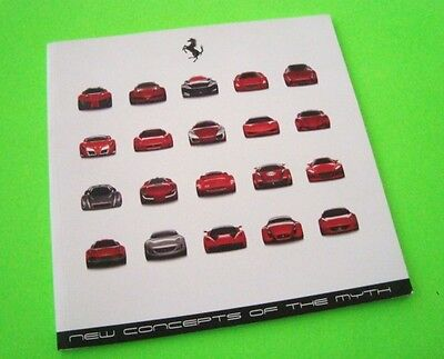 scarce 2006 FERRARI DESIGN COMPETITION DLX CATALOG 60-pgs FERRARI CONCEPT CARS