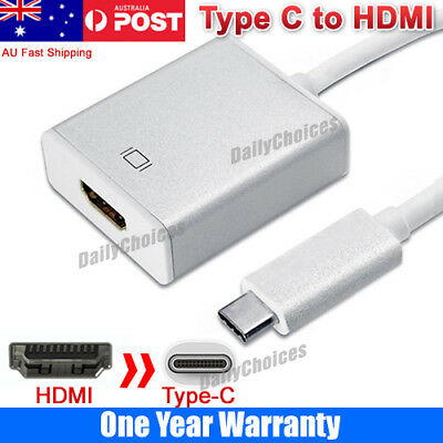 USB-C Type C USB3.1 Male to HDMI Female HDTV 1080p Adapter Cable for Macbook