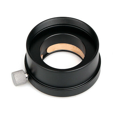 "Black 2""(50.8mm) to 1.25""(31.7mm) Mount Adapter for Telescope Eyepieces Adaptor"