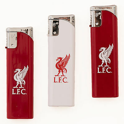 Liverpool FC LFC Triple Pack Lighters Official