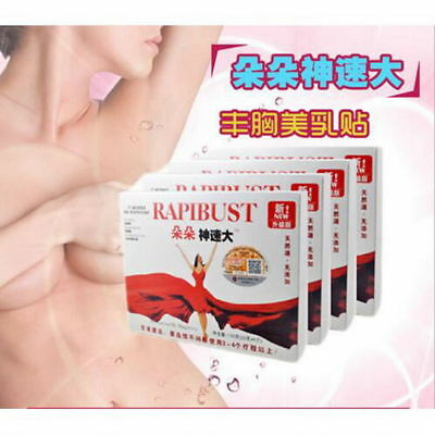 5Boxes RAPIBUST Breast Enlargement Enhancement Bigger Boobs Enlarging Bust Patch