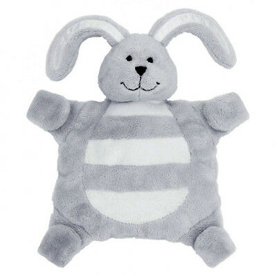 New baby sleepytot bunny, dummy holder comforter security blanket Large grey