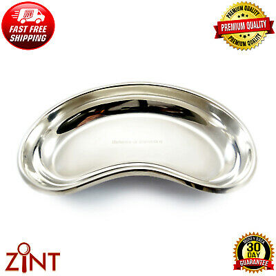 Kidney Bowl Tray Medical Dish Surgical Instrument Stainless Steel Tool Lab SS CE
