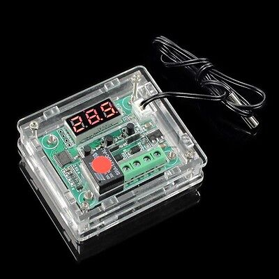 For XH W1209 Digital Temperature Control Module Clear Acrylic Case Shell Kit UK