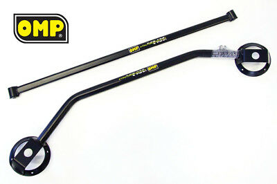 Omp Anthracite Twin Strut Brace Set Ford Fiesta Mk2 Xr2 1.6
